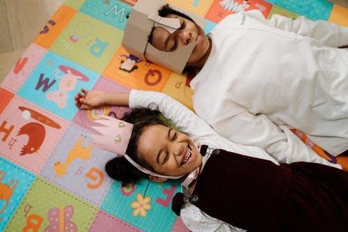 Kids on the mat